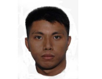 ZAMBOANGA. Facial composite sketch of one of the kidnappers of the Hyrons couple in Zamboanga del Sur. (Photo from Zamboanga Police Regional Office)