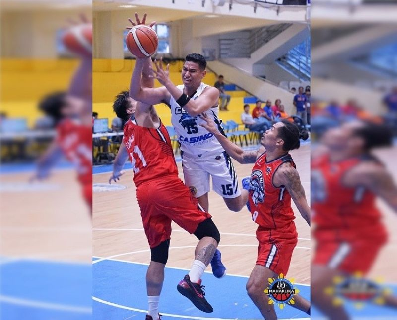 Cebu Sharks forward Fletcher Galvez will try to carry over his fine play from their last game to their match against Bacoor on Thursday, October 10, 2019. (Photo courtesy of MPBL)