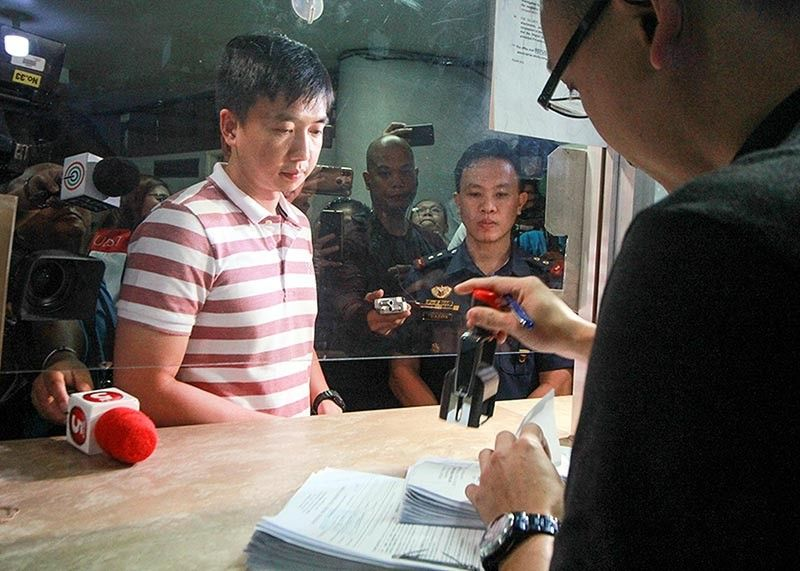 Dexter Dormitorio, the elder brother of the late Cadet Fourth Class Darwin DormitorioM officially filed cases against perpetrators of his brother's death at the Baguio City Prosecutor's Office. <b>(Jean Nicole Cortes)</b> BAGUIO CITY. Dexter Dormitorio, the elder brother of the late Cadet Fourth Class Darwin DormitorioM officially filed cases against perpetrators of his brother's death at the Baguio City Prosecutor's Office. (Jean Nicole Cortes)