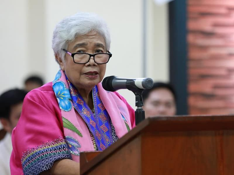 DepEd Secretary Leonor Briones (Photo grabbed from Briones' Facebook page)