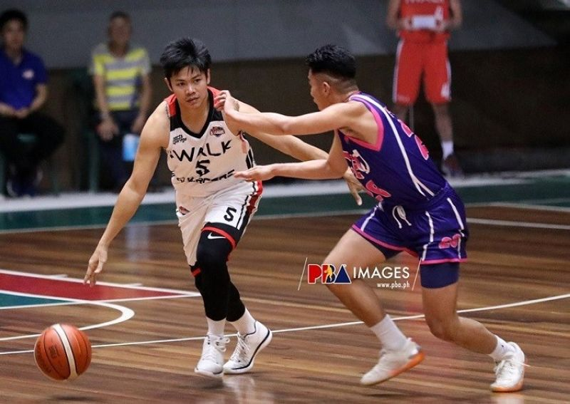 TOP PLAYER. Cebuano Jerick Canada, seen here playing for iWalk in the PBA D-League, was named to the ABL's All-Time Top 10 list. (Photo courtesy of PBA)