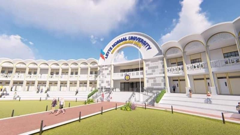 TACLOBAN. The artist perspective of the state-of-the-art Leyte Normal University-Palo Campus designed by Architect Primier Solajes. (Contributed photo)