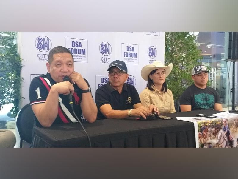 DAVAO. Samahang Basketbol ng Pilipinas (SBP) 11 operations head Ronel Leuterio, in the Davao Sportswriters Association (DSA) Forum at The Annex of SM City Davao Thursday, October 10, says the 2019 Collegiate Sponsors League Escandor Cup will be a big opportunity for homegrown talents. (Marianne L. Saberon-Abalayan)