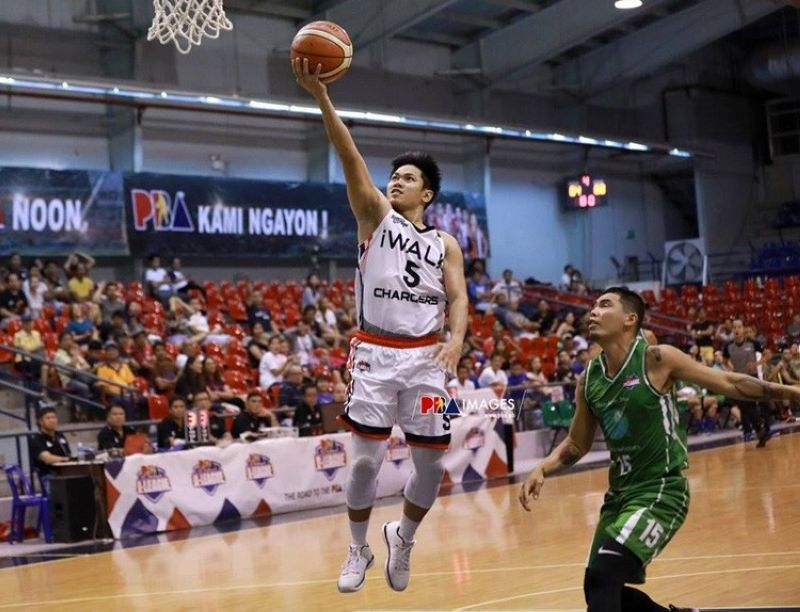 Cebuano guard Jerick Cañada, seen here playing for iWalk in the PBA D-League, credits the ABL for kickstarting his professional career. (Foto courtesy of the PBA)