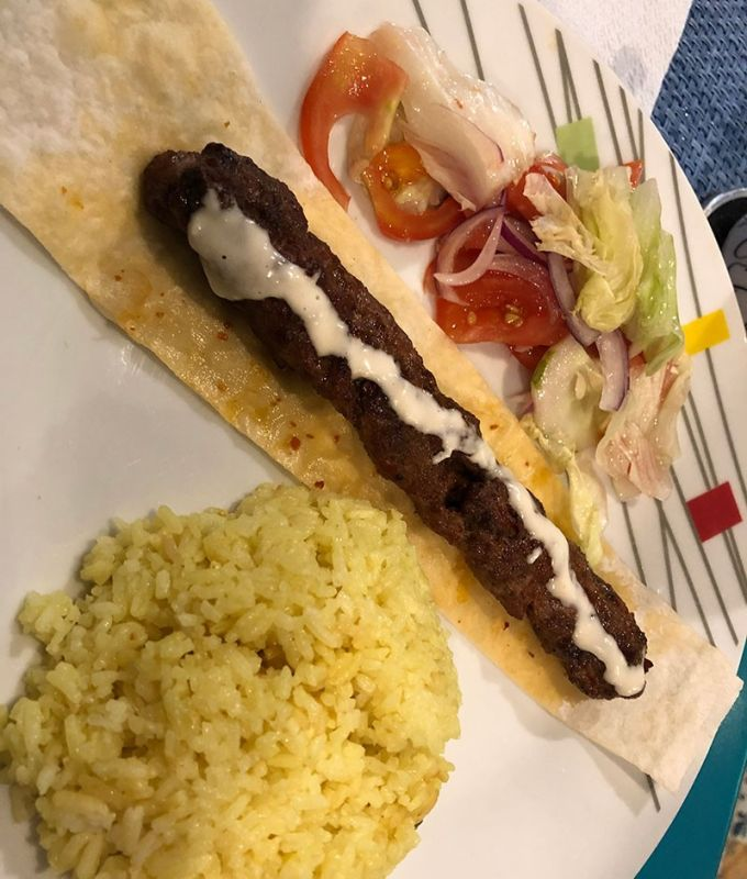 Adana Kebab (Photo by Reuel John F. Lumawag)