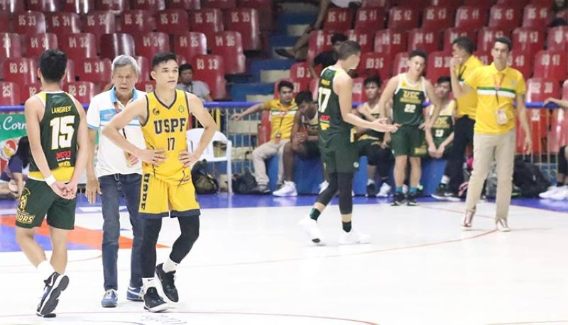 CEBU. USPF forward Steven Ursal explained that the hit USC forward Kenneth Brillo received that led to their melee last Thursday was inadvertent. (Amper Campana)
