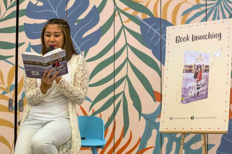 From postcards to pages: Travel writer launches first book