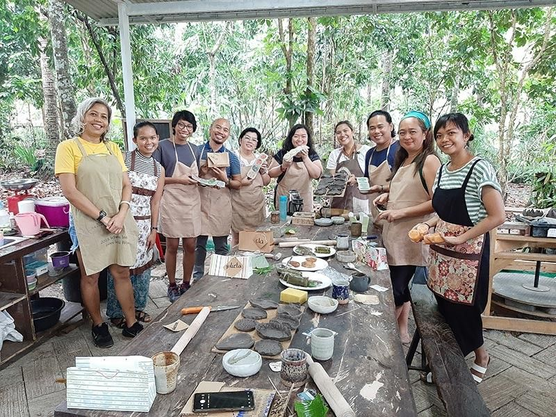 Soap making Workshop (Photos from Herbology Soap and Shampoo Bars)