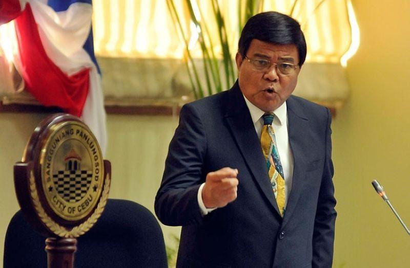 Cebu City Mayor Edgardo Labella (File photo)