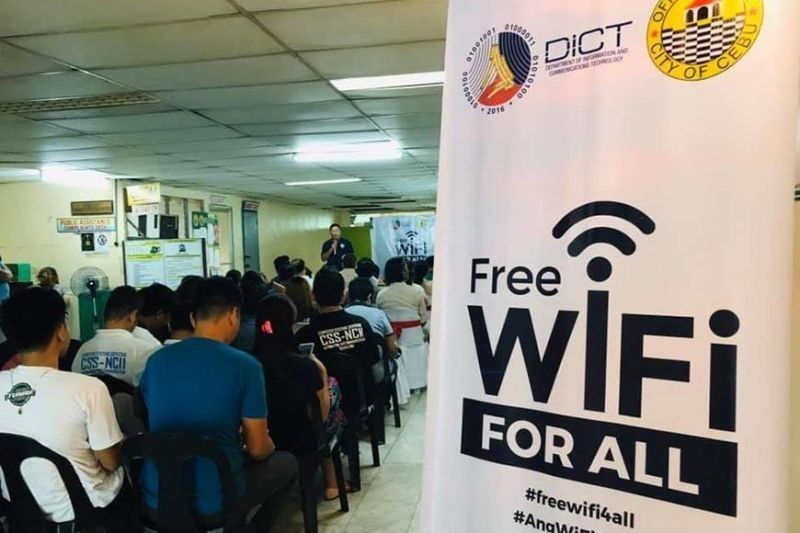 Free Wi-Fi launched in Ramos market, Vicente Sotto hospital