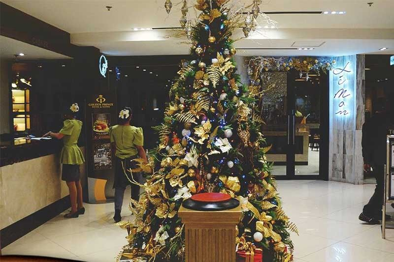 TASTE. Last year, Golden Prince Hotel and Suites had a symbolic Christmas Tree, and offered native holiday cuisines.