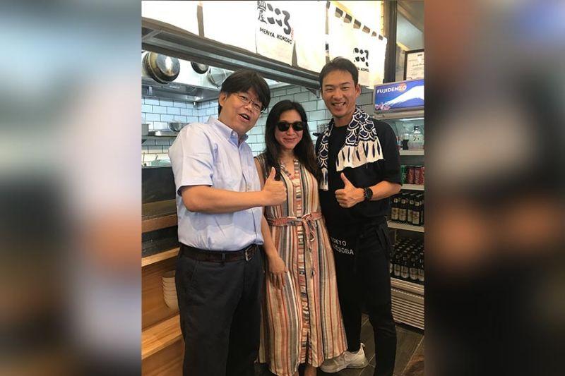 Akihiko Koga, Heidi Ng, Chef Takuma Ishikawa
