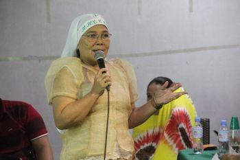 MGA LIDER: Ang mga lider sa Eskaya Tribe sa Candijay, Bohol ug ang Sama Bajau sa Cebu City. (Tampo)