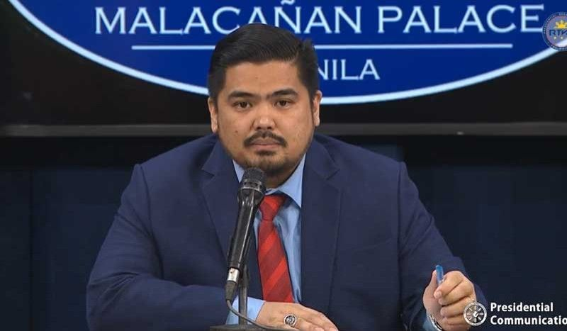 MANILA. Anti-Red Tape Authority Director General Jeremiah Belgica holds a briefing on October 16, 2019. (Photo grabbed from Palace video)
