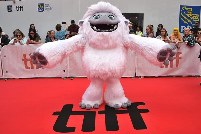 TORONTO, CANADA. In this September 7, 2019, file photo, the character Everest from the film