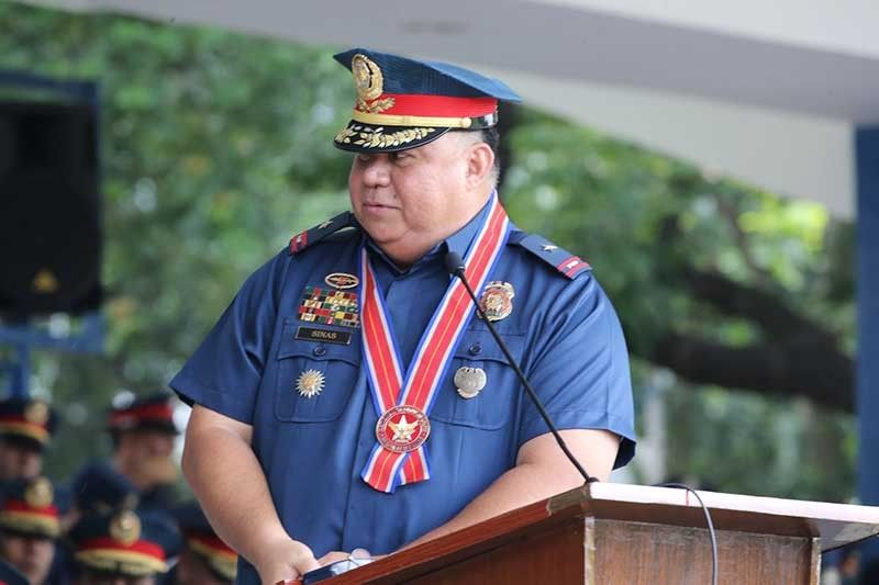 MANILA. Police Brigadier General Debold Sinas assumes as NCR Police Office regional director on October 16, 2019. (Photo from PNP Facebook)