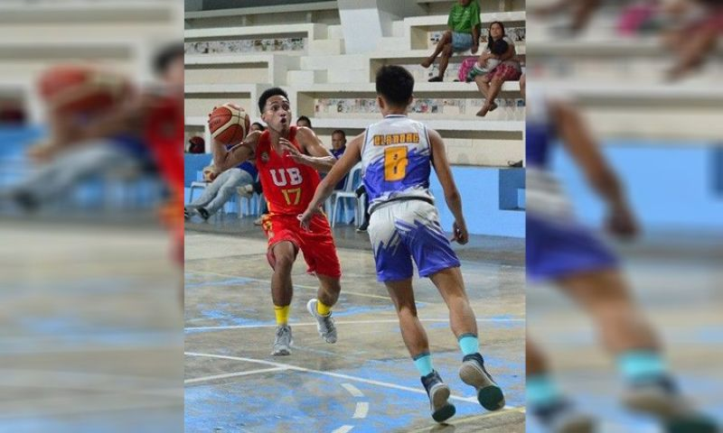 GREAT NUMBERS.  James Bolos of the University of Bohol finished just four rebounds shy of a triple double. (Contributed Photo)