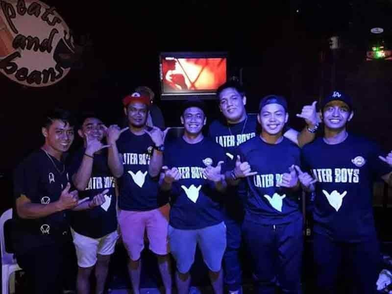 BACOLOD. DJs of Peats and Beans known as The Later Boyz. (Churchill Aguilar)