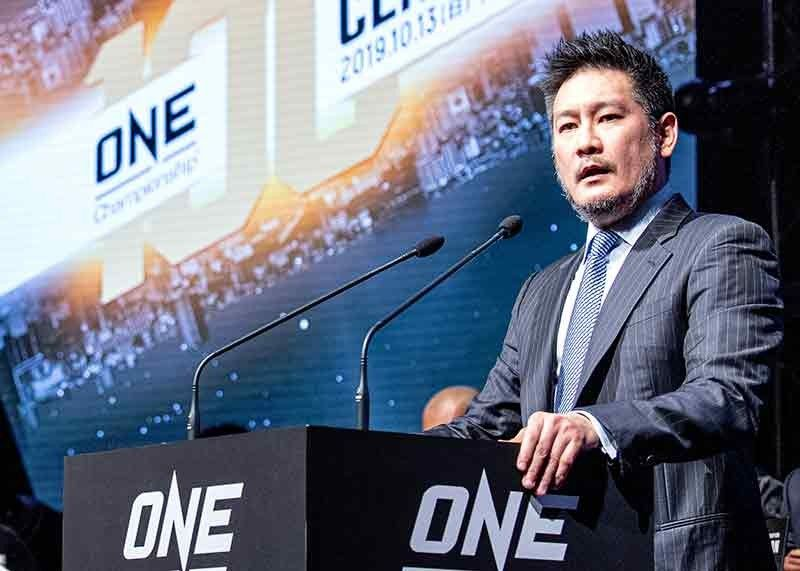 TO THEIR DEFENSE. ONE Championship Chief Executive Officer Chatri Sityodtong recently came to defend Team Lakay following the onslaught of hate messages from netizens. (ONE Championship photo)
