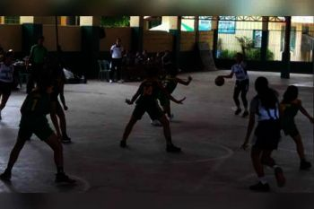 CAGAYAN DE ORO. The Corpus Christi Lady Knights will try to upstage defending Inter-Public titlist MOGCHS BBG on Saturday, October 19, at the Nazareth gym, Cagayan de Oro City. (Supplied Photo)