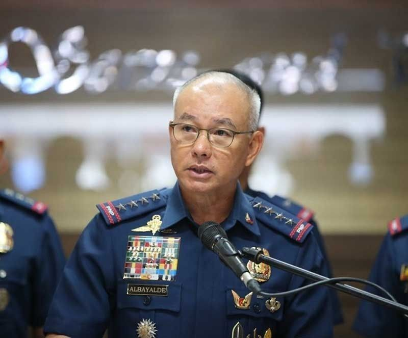 MANILA. Former Philippine National Police chief Oscar Albayalde is on non-duty status until his retirement on Novemjber 8, 2019. (File Photo)