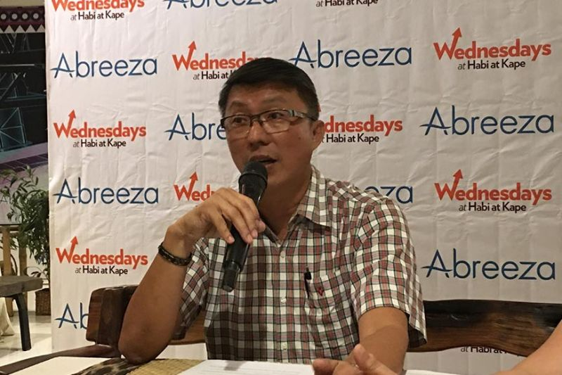 DAVAO. Alvin T. Teves, representative of the Hog Farmers of Davao, Inc. (Hogfadi) relayed their appeal to the city government to retain the import ban on live hogs and processed meat products coming from Luzon and other areas affected by African Swine Fever, during a press conference, Wednesday, October 116, 2019. (Rob Gumba)