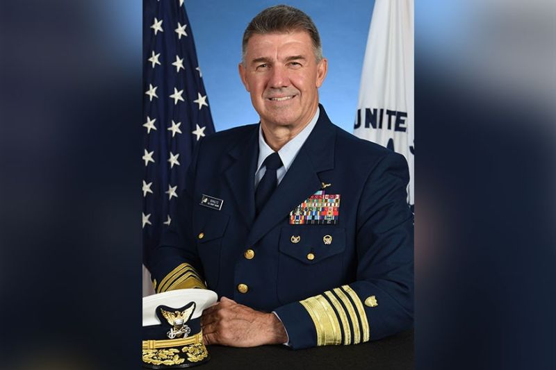 Admiral Karl Schultz, commandant of the United States Coast Guard. (Wikimedia Commons)