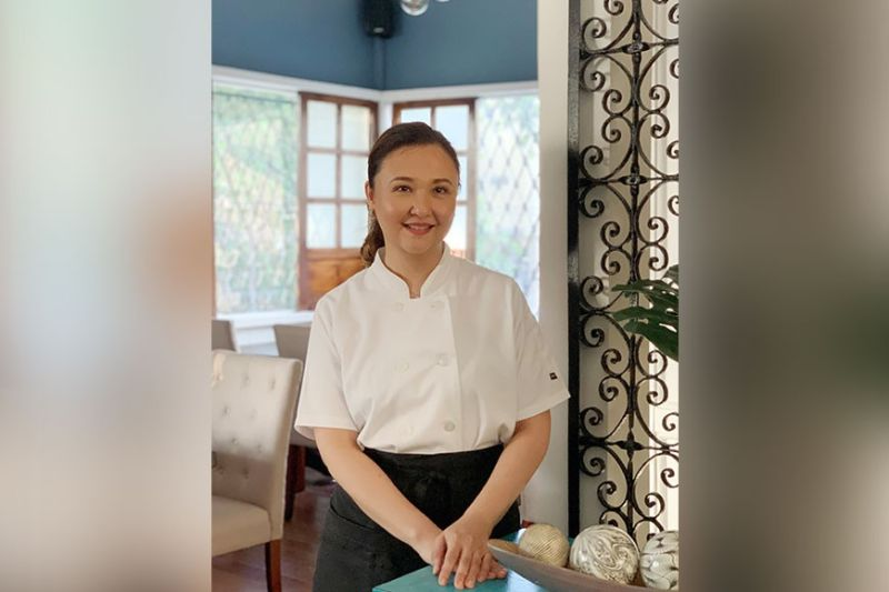 Chef Annie Cacho at her new restaurant, ArtisAna. (Photo by Jinggoy I. Salvador)