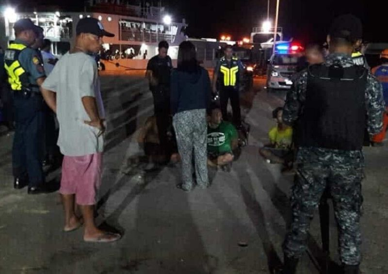 CEBU. Three of the suspects involved in the robbery inside a mall in Mandaue City were killed after allegedly resisting arrest in Barangay Polambato, Bogo City on Saturday, October 19, 2019. (Contributed photo)