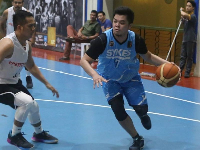 Sykes' superstar Janjan Auditor reset the record books once again, breaking his own record for the most points scored in a single game after putting up 55 points against WiPro on Saturday in the E-Leagues for Basketball. (Contributed photo)