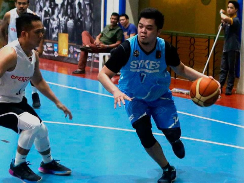 RECORD. Janjan Auditor brought his hot shooting hand anew, scoring 55 points in Sykes' 10th win in 12 games. (CONTRIBUTED FOTO)