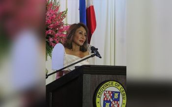Gov. Gwendolyn Garcia (SunStar File Photo/Allan Cuizon)