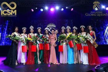 Mananaug sa ICSM Infinity Pageants-Philippine Global Queens pageant nga gihimo Oktubre 18 ning tuig. (Hulagway iya sa ICSM Infinity Pageants)