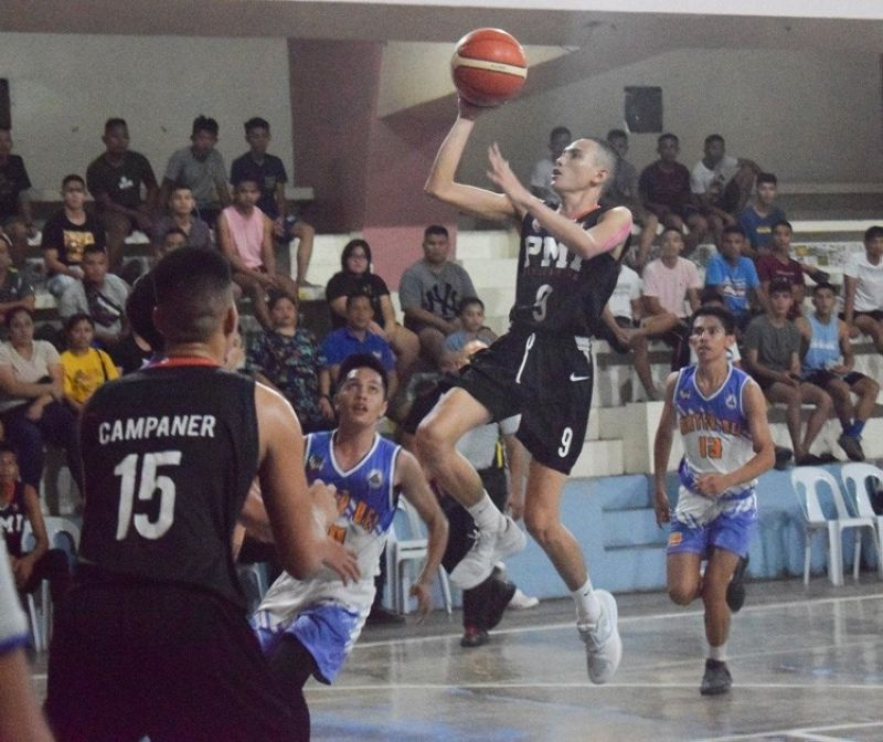 The PMI Colleges Bohol Navigators rung up its seventh win in a row over the weekend in the BSAA Season 9 basketball tournament. (Contributed foto)