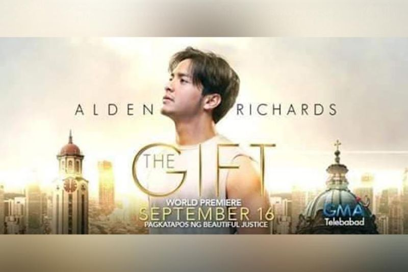 Alden Richards topbills The Gift. (Alden Richards FB page)