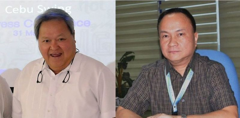 Metropolitan Cebu Water District (MCWD)'s Joel Mari Yu and Jose Eugenio Singson Jr. (SunStar file fotos)