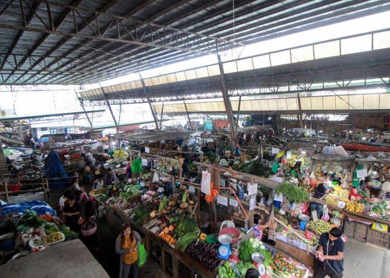 BAGUIO. The City Government needs at least P2.5 billion to pursue the massive facelift of the city's public market to make it one of the most modernized markets in Southeast Asia. (Jean Nicole Cortes)