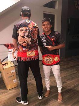 Bibo nga nagpahulagway si IBF Super Flyweight world champion Jerwin
