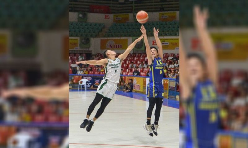 UC guard Darrell Shane Menina will try to lead the Webmasters to a win over the USPF Panthers on Thursday night in the Cesafi.(Contributed foto/Ron Tolin)