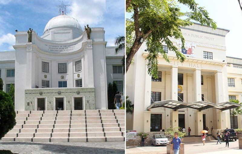 Facade of Cebu Capital and City Hall buildings (SunStar File)