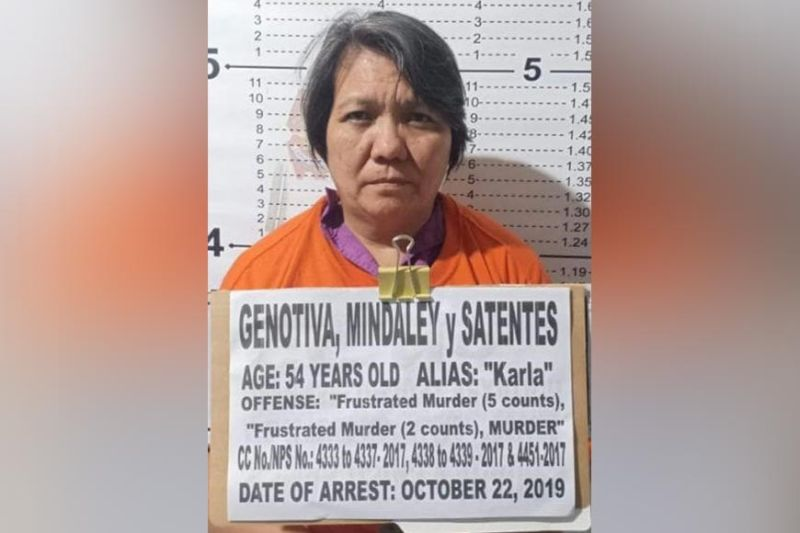 ZAMBOANGA. The Eastern Mindanao Command releases the photograph of Mindaley Genotiva, 54, a ranking member of the New People's Army, who was arrested Tuesday, October 22, by joint military and police team in Kidapawan City, North Cotabato. (Contributed photo)