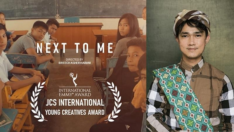 DAVAO. Breech Asher Harani's film Next To Me recognized by the International Emmy Award for winning 2019 JCSI Young Creative Awards. (Ace June Rell S. Perez)