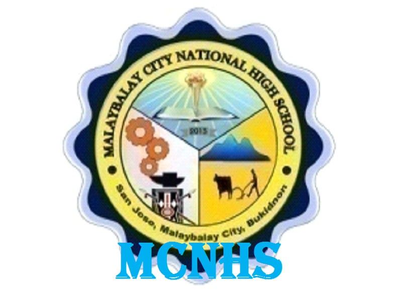 Malaybalay City National Science High School (Logo from MCNSHS' Facebook page)