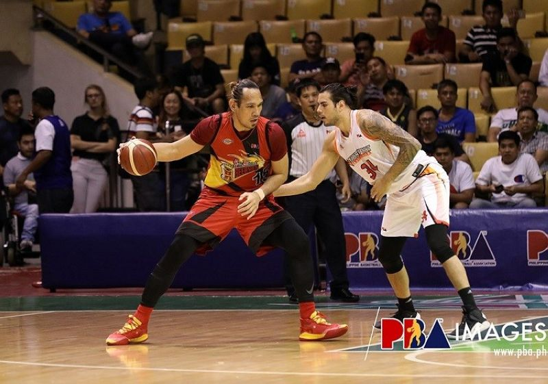 Cebuano June Mar Fajardo has been named the PBA's Player of the Week for the period of October 14-20, 2019. (Photo courtesy of PBA)
