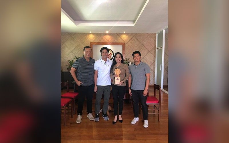 DONE DEAL. Organizers of the Asian Cup meet City of Naga Mayor Kristine Vanessa Chiong to discuss the hosting of the event. (Contributed Photo)