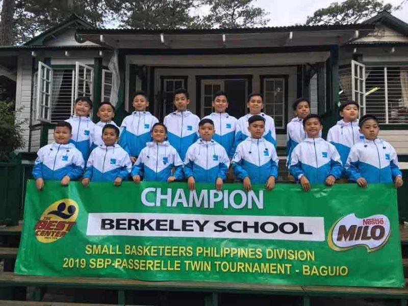 BAGUIO. Berkeley School, continue to rack up titles in the Baguio leg of the Milo Best Twin Tournament recently. Berkeley, together with UB Science High School will represent the city in the regional leg which will be hosted by the Summer Capital. (Photo by Best Center Sports – Baguio)