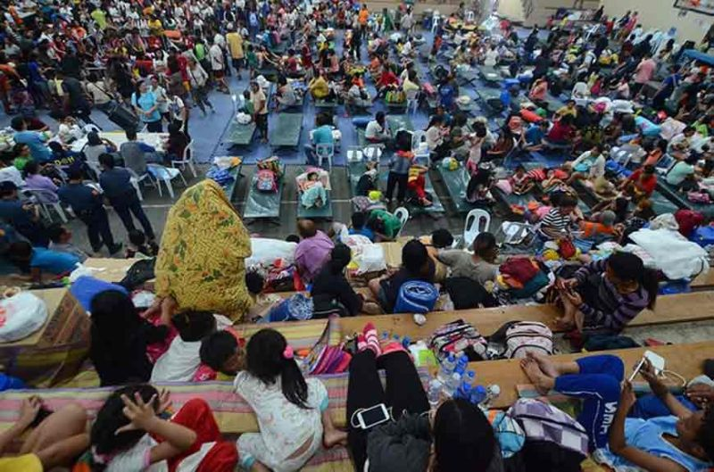 DAVAO.  The center will serve as a temporary shelter for people who are forced to leave their homes in times of disasters such as flooding and fire.c