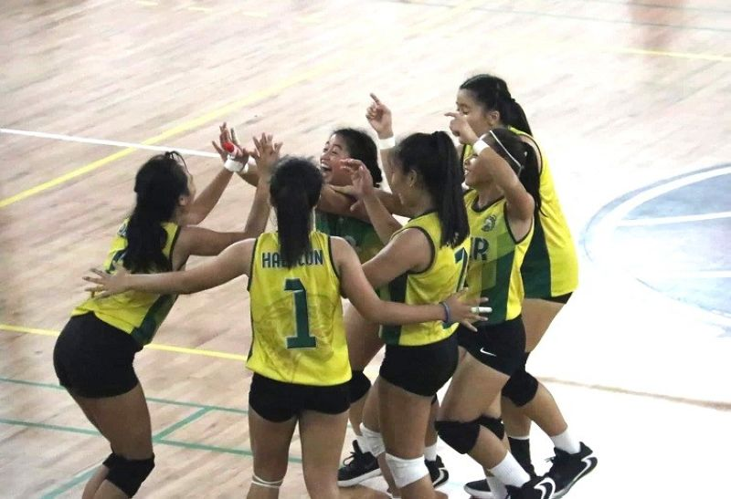 VICTORY. USJ-R forced a rubber match after pulling off a convincing win over the defending champions USPF in Game 2 of their best-of-three championship series. (Photo by Amper Campaña)