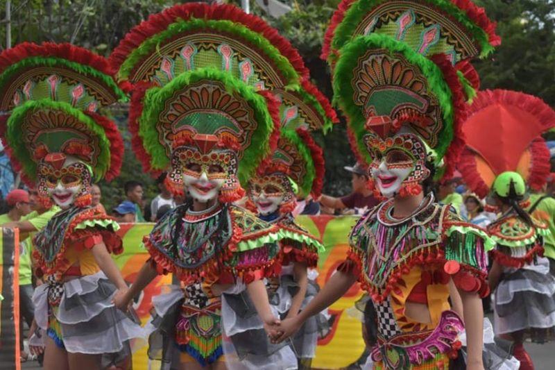 BACOLOD. Barangay Estefania Masskara dancers. (Contributed photo)
