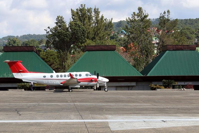 BAGUIO. Following a series of talks with airlines and investors, the operation of Loakan Airport in the near future is expected to boost Baguio's tourism industry. (SSB file photo)